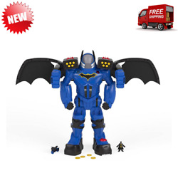 Over 2 Ft Batbot Xtreme Come With Wings, Fists, Projectile Launcher, Motorcycle