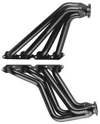 Big Block Chevy Full Length 1955 - Up Silver Coated Exhaust Headers Bbc C6-sec