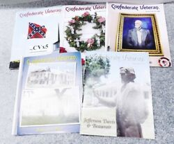 5 Different Issues Confederate Veteran Magazine 2006-2008 Last Meeting Wi Conf