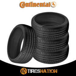 4 New Continental Contisportcontact 5p 265/35/21 101y Performance Summer Tire