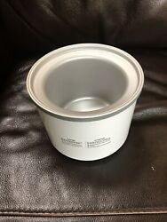 Cuisinart Freezer Bowl Replacement Only Ice-21 Ice Cream Maker 1.5 Qt Part Only