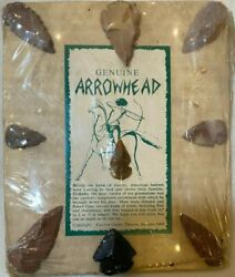 Authentic Arrowheads Collection Lot Of 9