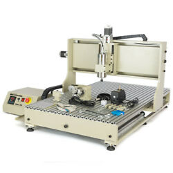 1.5kw Usb 4 Axis 8050 Cnc Router Engraver Vfd Wood Milling Cutting Machine