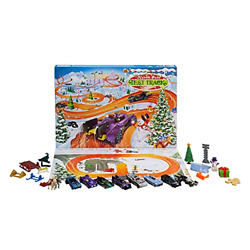 Hot Wheels 2021 Advent Calendar With 24 Surprises 164 Vehicles And Test Track