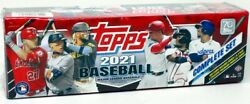2021 Topps Complete Baseball Factory Set Hobby Box Blowout Cards