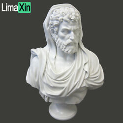 Life Size Hand Carved White Marble Roman Bust Statue,marble Bust Sculpture
