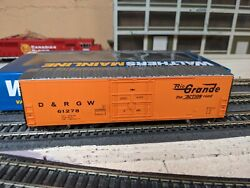 F Walthers Mainline 50' Insulated Boxcar Drgw Rio Grande 61278 Item 910-2033