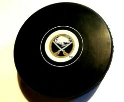 Buffalo Sabres Puck Nhl Hockey Autograph Style New Low Combined Shipping