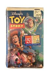 Disneyandrsquos Toy Story Vhs Stock No 6703 Unopened Clam Shell Very Rare