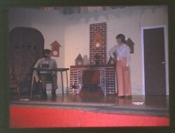 New Bremen Ohio High School Theater Class Play Picture Photo Slides Cast Acting