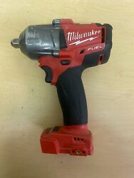 Milwaukee 2860-20 M18 Fuel Mid-torque 1/2 Pin Detent Impact Wrench Tool Only