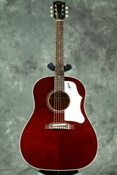 New Gibson 1960s J-45 Original Adj Saddle Wine Red Acoustic Guitar From Japan