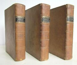 1805 3 Volumes Private And Special Statutes Of Massachusetts Commonwealth Antique