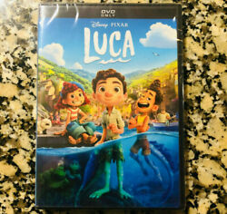 Luca DVD 2021 Family Animation BRAND NEW FREE SHIPPING