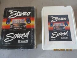 Vintage 1981 Chevrolet Gm 8-track Demo Tape For Delco Radio Parts Used