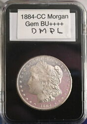 1884-cc Gem Ms+++++ Dmpl Fresh From Vintage Roll Perfect Coin