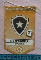 Pennant + Pin - Best Clubs In The World Botafogo, Brazil