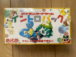 Pokémon Card Game Intro Pack Movie Release Pack Vintage Unopened New Japan