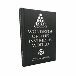 Witchcraft, Wonders Invisible World, Cotton Mather, Salem Witch Trial, Occult