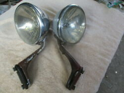 7 Inch Guide Script Clear Lens Passing And Driving Lights From The 1930and039s