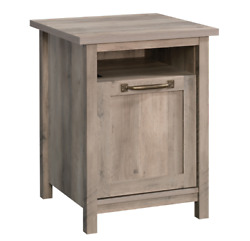 Better Homes And Gardens Modern Farmhouse Side Table With Usb Rustic Gray Finish