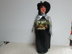Byers Choice 2021 Witch With Drink Potions In Silver Cape New