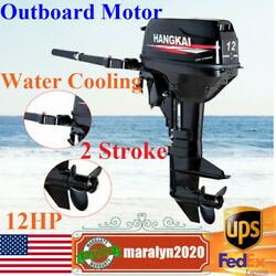 2stroke 12hp Outboard Motor Gasoline Boat Engine 169cc Cdi Water Cooling System