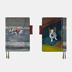 Hobonichi Techo Cousin Notebook Cover Only A5 Jack Russell Terrier Dog Walking $84.63