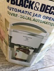 Black And Decker Lids Off Jw200 Automatic Electric Jar Opener New In Box White
