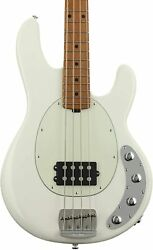 New Musicman Stingray Special 1h Ivory White Electric Bass Guitar From Japan