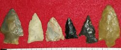 Artifacts Authentic Arrowheads, Lot 15