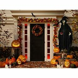 Haunted Hill Farm Hhwitch-8fls Life-size Animatronic Witch Indoor/outdoor Hal...