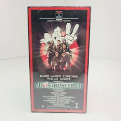Ghostbusters 2 Vhs Brand New Factory Sealed 1989 Columbia Stamping