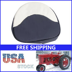 Fit For Farmall H M Series 300 450 Cub Tractor Seat Cushion Seat Padded Blue