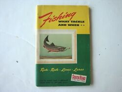 1953 South Bend Bait Fishing What Tackle And When Book Rods Reels Fish Info