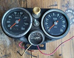 Triumph Trident Bsa Rocket Iii T150 Gauge Console And Gauges Early 69-70