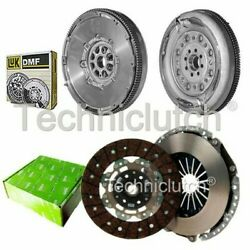 Valeo 2 Part Clutch Kit And Luk Dmf For Audi A3 Convertible 2.0 Tfsi