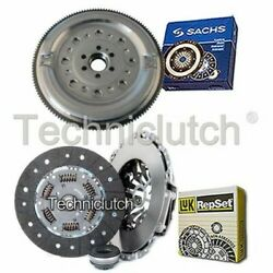 Luk 3 Part Clutch Kit And Sachs Dmf For Audi A6 Saloon 1.9 Tdi