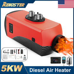 12v 5kw Air Diesel Heater 2 Vent Lcd Switch 10l Tank For Truck Boat Universal