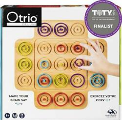 Otrio Wood Strategy-based Board Game For Adults Families And Kids Ages 8 And Up