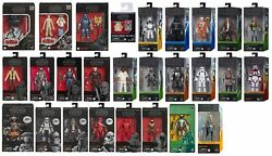 Star Wars The Black Series 6 Action Figures - 73 Variations To Choose 10/6/2021