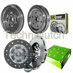 Valeo 3 Part Clutch Kit And Luk Dmf For Audi A6 Saloon 1.9 Tdi