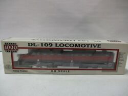Walthers Proto Series 1000 Gulf Mobile And Ohio Dl-109 Locomotive Ho Scale