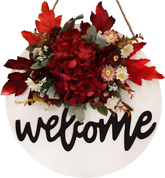 Fall Wreaths For Front Door Welcome Sign For Front Door Farmhouse Sign Front Por