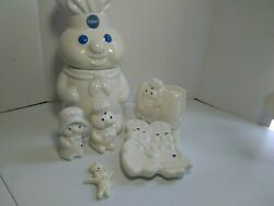 Pillsbury Doughboy Giggling Cookie Jar 1999 By Benjamin And Medwin, And More