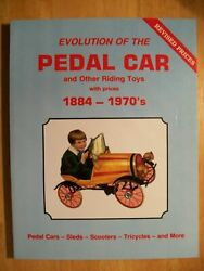 Pedal Cars Rare Antique Toy Vol. 1 Price Guide Book Picture's