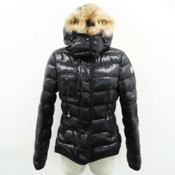Moncler 2way Down Jacket Armoise Black System Secondhand Women And039s