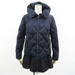 Moncler Down Jacket Vouglans Navy System Secondhand Women And039s
