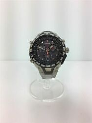 Secondhand Epson Epson/solar Watch/analog/stainless Steel/grey/silver Clothing