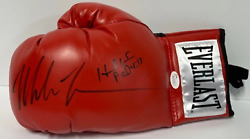 Mike Tyson And Evander Holyfield Autographed Everlast Boxing Glove Jsa